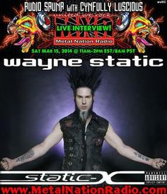 Wayne Static Interview - Wisconsin Death Tour 2014