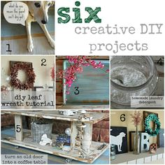 six creative, and mostly easy, DIY projects (by the space between)