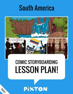 Your students will love writing about WORLD GEOGRAPHY with Pixton comics and storyboards! This FREE lesson plan features a Teacher Guide and themed props. PLUS 3 awesome activities with interactive rubrics and student examples.
