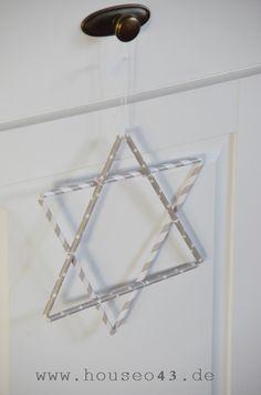House No. 43: handmade decoration - handgemachte Dekorationen im Dezember