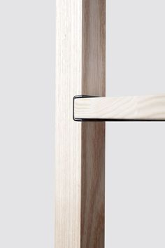 Details we like / Wood / Conenction / Metal / Black / Insert / Furniture / at mocoloco: