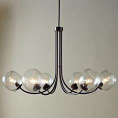 Eclipse Chandelier | west elm- I really like this! And it's only 250 which is a great price!