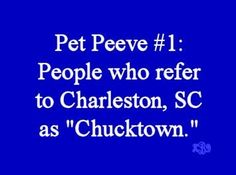 Either call it Charleston or Charles Town.