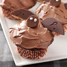 Bat Cupcakes Recipe from Taste of Home