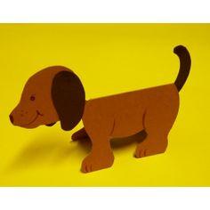 #Hund basteln | Eine einfache und tolle Bastelidee, #Tiere basteln, basteln mit #Kindern