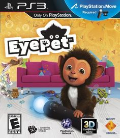 Eyepet Eyepet Is Virtually Projected Into Your Living Room Where He Can Play And Interact With You And Your Family Grab A Playstation Eye Camera And