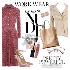"""Work Wear"" by clotheshawg ❤ liked on Polyvore featuring Christian Dior, London Edit and Allurez"