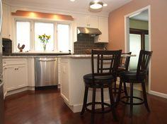 Naturally Modern - Kitchen get styled ! transitional-kitchen. http://www.kmrenovate.com