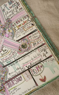 Cute journaling idea