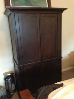 Pottery Barn Armoire   $250 (Sterling )