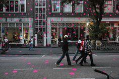 LET'S STICK TOGETHER  #City Dressing, #Art Direction, #Street Art  Rotterdam 2006
