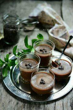 Chocolate mocacinno Pudding
