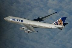United becomes first US airline to offer overseas WiFi with satellite-equipped 747 A380 Aircraft, Airbus A380, Boeing 747, Commercial Plane, Commercial Aircraft, Fly Safe, Bomber Plane, Jumbo Jet, Flight Attendant Life
