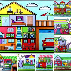 Coloring Books, Diy And Crafts, Easy Diy, Channel, Author, Houses, Watch, Amazon, Check