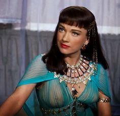 "Anne Baxter as Nefertiti in ""The Ten Commandments"""