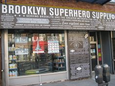 826Valencia NYC - Brooklyn Superhero Supply store & writing workshop