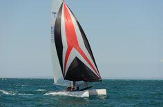 5.7 Taipan Sail Away, Catamaran, Surfboard, Sailing, Candle, Catamaran Yachts, Surfboard Table, Skateboarding