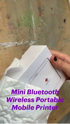 Diy Crafts Hacks, Fun Crafts, Diy And Crafts, Paper Crafts, Cool Gadgets To Buy, New Gadgets, Amazon Gadgets, Mobile Printer, Everyday Hacks