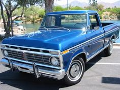1974 FORD F-100 360 V8 PICKUP TRUCK Beautiful old truck!