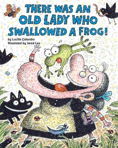Spring is in the air, and everyone's favorite old lady is ready to celebrate! That zany old lady is back--and with a serious case of spring fever! This time she's swallowing items to make the most of