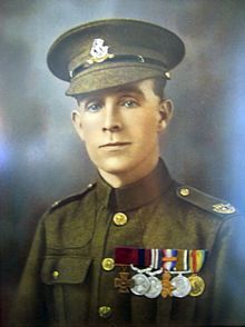 Henry Tandey, VC, DCM, MM (30 August 1891 – 20 December 1977) was an English recipient of the Victoria Cross, the highest and most prestigious award for gallantry in the face of the enemy that can be awarded to British and Commonwealth forces. He was the most highly decorated British private of the First World War.