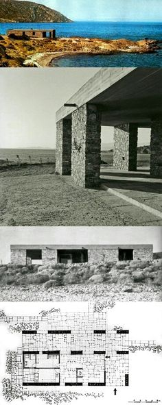 Aris Konstantinidis's Weekend House in Anavyssos / Greece (1962–1964)