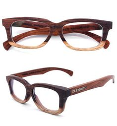 Takemoto hand made rosewood glasses. $250.
