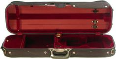 Bobelock Hill Style Lite 6002 4/4 Violin Case with Wine Velvet Interior by Bobelock. $220.00. This is a Bobelock Hill Style Lite #6602 4/4 Violin Case with a beautiful wine velvet interior and black screw-attached canvas cover. The arched top gives superior protection for up to four bows as well as the fully suspended violin bed. You'll find all the preferred features of a much more expensive case in the Bobelock Hill Style Lite #6602 4/4 Violin Case. This includes a French fi...