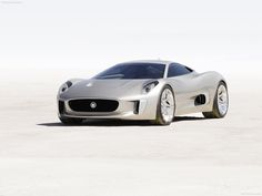 Jaguar CX-75. It's like both the future and the speed.