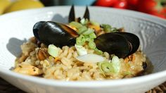 BBC One - My Life on a Plate - Mussel risotto