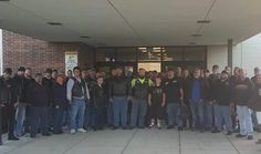 DEKALB COUNTY, Ind. – A group of more than 50 bikers in northeastern Indiana stepped in to help when they found out a local sixth grade student was having trouble with bullying, according to WXIN.  Tammy Mick, the mother of Dekalb Middle School Student Phil Mick, said it got so bad he told her he contemplated suicide. She spoke with Brent Warfield of KDZ Motorcycle Sales & Service about it, and Warfield immediately stepped in to help.