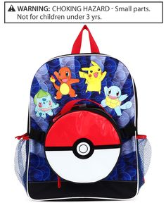 "Fab Pokemon Little Boys' Group Jump 16"" Backpack"