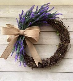 Excited to share this item from my shop: Lavender grapevine wreath/grapevine /spring wreath /summer wreath /flower wreath /everyday wreath /Mother's Day wreath /farmhouse/front door Mothers Day Wreath, Valentine Day Wreaths, Valentine Decorations, Christmas Wreaths, Winter Wreaths, Prim Christmas, Spring Decorations, Valentine Box, Valentine Ideas