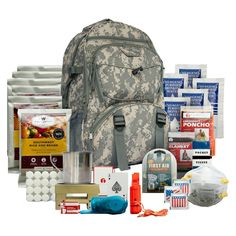 Wise Food 5 Day Survival Back Pack - Camo