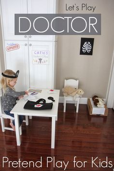 Let's Play Doctor Felt Pretend Play for Kids {+Giveaway} from Kilmer Kilmer @ Toddler Approved Dramatic Play Area, Dramatic Play Centers, Learning Through Play, Kids Learning, Teaching Kids, Infant Activities, Activities For Kids, Rainbow Activities, Community Activities