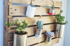 2 Tutoriales para jardines Verticales con Palets   Ser ecológico es facilisimo.com