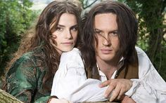 "Charlotte Riley & Tom Hardy, as Cathy & Healthcliff in ""Wuthering Heights,"" 2009."