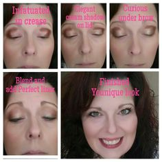 Eye tutorial using Younique eye products. These natural mineral pigments have great color, fabulous staying power with no creasing!! You can orders these amazing products here:  Www.miraculousmascara.net