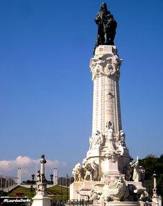 Marquês de Pombal e Parque Eduardo VII, Lisboa, Portugal