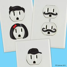 Electrical Outlet Stickers #LOL