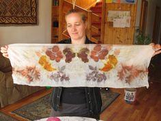 Ecoprint- és növényi festős történetem - ballagemma