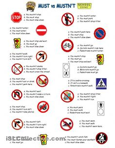 MUST or MUSTN'T worksheet - Free ESL printable worksheets made by teachers #coursanglaislycee