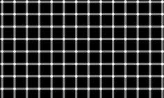 Consegue contar os pontos pretos? É fácil: não há nenhum.