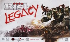Risk Legacy- The classic game of world conquest, with permanent changes.