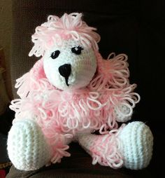 Check out this item in my Etsy shop https://www.etsy.com/listing/230653797/crochet-poodle-pattern-only