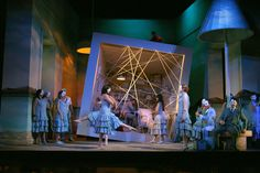 Pénélope by Fauré, from Wexford Festival Opera 2005. Production by Renaud Doucet. Sets and costumes by André Barb.