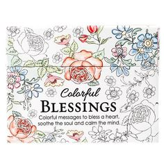 Coloring Cards Colorful Blessings