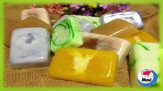 Como hacer jabones artesanales con glicerina - Cosmetica natural Soap Bubbles, Home Made Soap, Aloe Vera, Homemade, Ethnic Recipes, Crafts, Diy Soaps, Chocolates, Activities