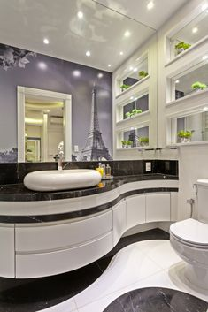 41 Colorful Bathroom You Will Definitely Want To Try – Home Decoration Experts Easy Home Decor, Home Decor Trends, Home Decor Styles, Style At Home, Bathroom Colors, Colorful Bathroom, Interior Design Boards, Interior Decorating Styles, European Home Decor