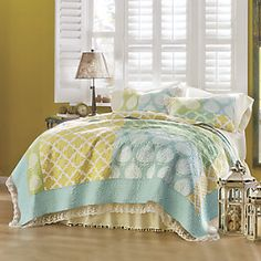Avalon Oversized Quilt and Sham from Ginny's ® | ZA710081